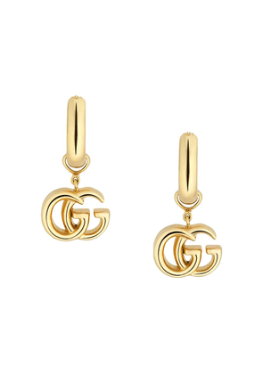 Gucci GG Running yellow gold earrings