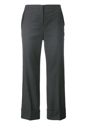 Nº21 tailored cropped bootcut trousers - Grey