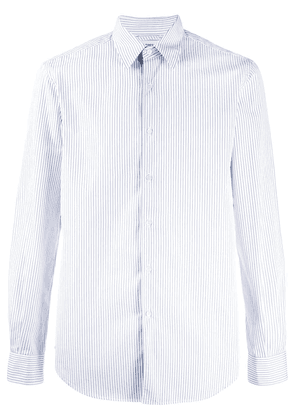Aspesi pinstripe button-up shirt - White