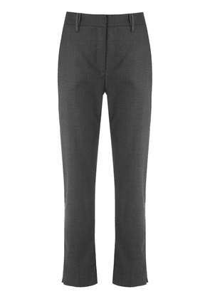 Egrey cropped tailored trousers