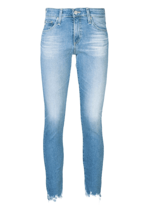 Ag Jeans faded effect jeans - Blue