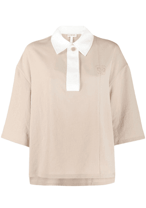 Loewe polo neck top - Neutrals