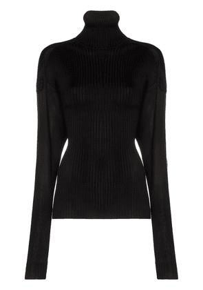 Bottega Veneta ribbed roll-neck sweater - Black