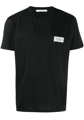 Givenchy Atelier patch T-shirt - Black