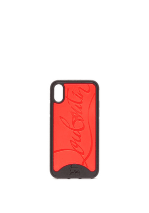 Christian Louboutin - Loubiphone Rubber Iphone® X/xs Case - Mens - Black Red