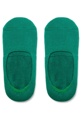 Anonymous Ism - Cotton-blend No-show Socks - Green