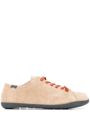 Camper contrast lace-up sneakers - Neutrals