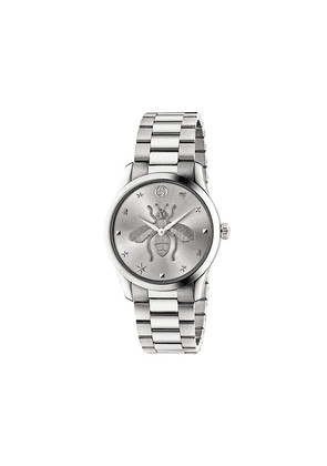 Gucci G-Timeless 38mm watch - Silver