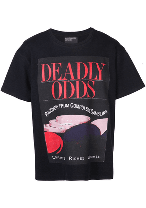 Enfants Riches Déprimés Deadly Odds T-shirt - Black