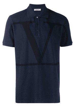 Valentino logo polo shirt - Blue