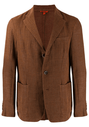 Barena textured blazer - Brown