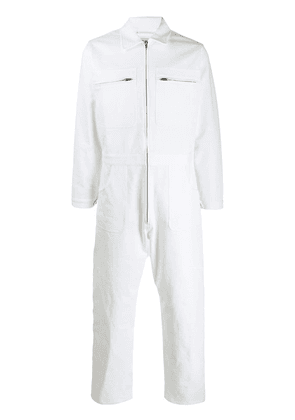 A Plan Application relaxed-style jumpsuit - White