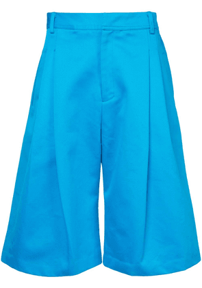Ex Infinitas wide leg shorts - Blue