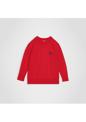 Burberry Childrens Crew Neck Cashmere Sweater, Size: 6Y