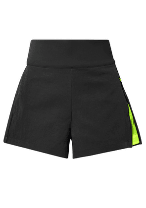 Nike - Tech Pack Ripstop-trimmed Stretch-twill Shorts - Black