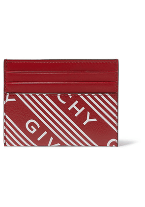 Givenchy - Printed Textured-leather Cardholder - One size