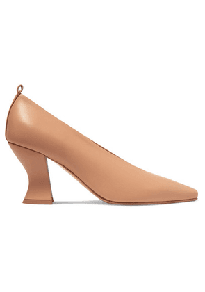 Bottega Veneta - Almond Leather Pumps - Neutral