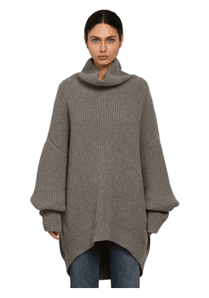 Oversize Alpaca & Wool Knit Sweater