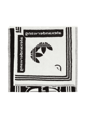 ADIDAS by Alexander Wang Logo-embroidered towel