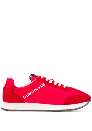 Calvin Klein Jeans smooth panel sneakers - Red
