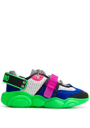 Moschino Fluo Teddy sneakers - Green