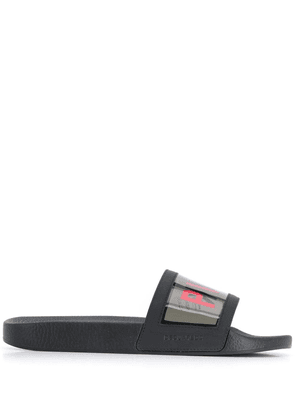 Dsquared2 Punk slide sandals - Black