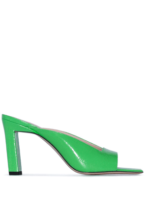 Wandler Isa 85mm mule sandals - Green
