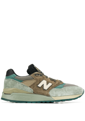 New Balance M998AWA panelled sneakers - Green