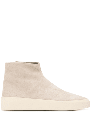 Fear Of God side button boots - Neutrals