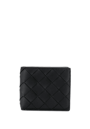 Bottega Veneta woven billfold wallet - Black