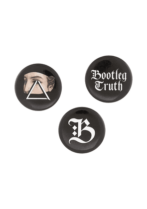 Undercover Bootleg Truth brooch - Multicolour