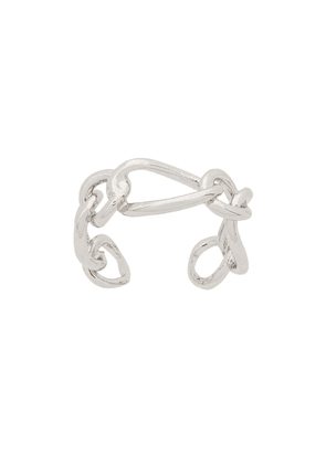 Federica Tosi chain ring - Silver