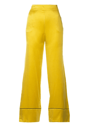 Asceno piped trousers - Yellow