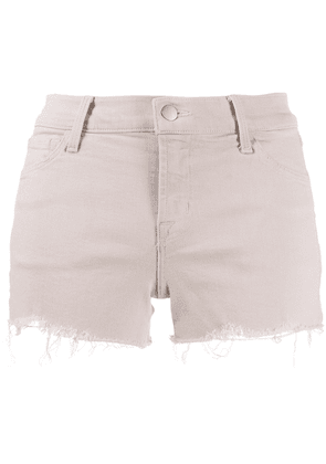 J Brand distressed denim shorts - Pink