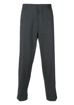 Bellerose cropped tapered trousers - Grey