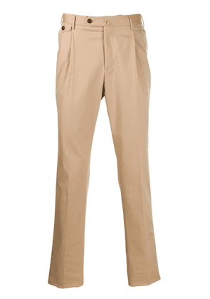 Pt01 tailored trousers - Neutrals