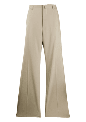 Lanvin pleated tailored trousers - Neutrals