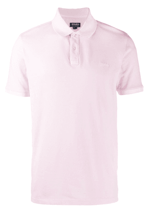 Woolrich short sleeve polo top - Pink