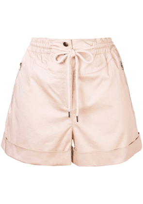Robert Rodriguez Studio Harper high-waisted shorts - Neutrals