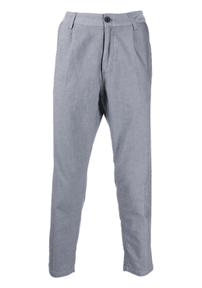 Haikure cropped trousers - Grey