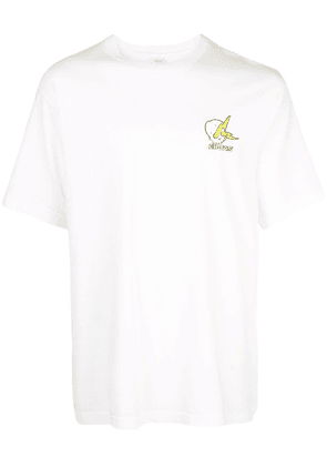 Childs embroidered logo T-shirt - White