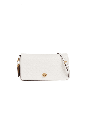 e1bc0ea1 Coach 1941 Dinky 19 Crossbody Bag with Charms and Leather Strap ...