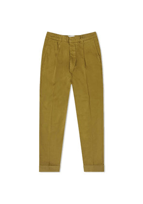 AMI Carrott Fit Trouser Olive