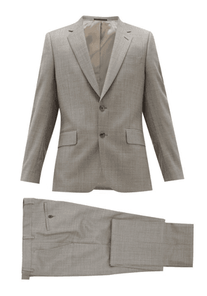 Paul Smith - Soho Fit Single Breasted Virgin Wool Suit - Mens - Grey