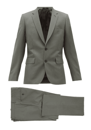 Paul Smith - Soho Single Breasted Wool Blend Suit - Mens - Green