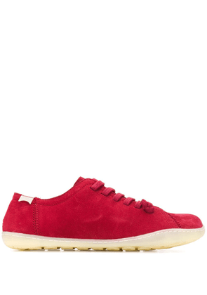 Camper flat lace-up sneakers - Red