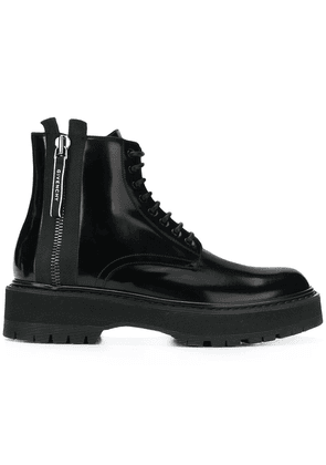 Givenchy ridged sole boots - Black