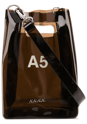 Nana-Nana A5 shoulder bag - Black