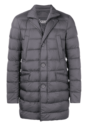 Herno padded straight-fit jacket - Grey