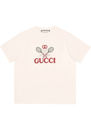 Gucci T-shirt with Gucci Tennis - White